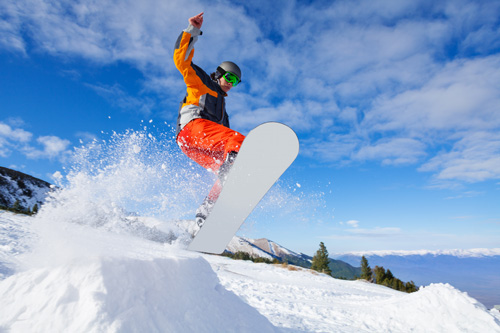Six More Weeks of Winter is Music to Snowboarders Ears