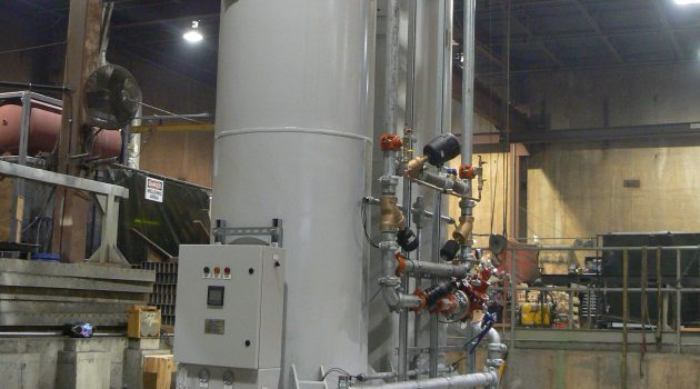 PSA Nitrogen Generator for Chemical Company Replacing Bulk Liquid Nitrogen Tank
