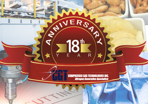 CGT Turns 18!