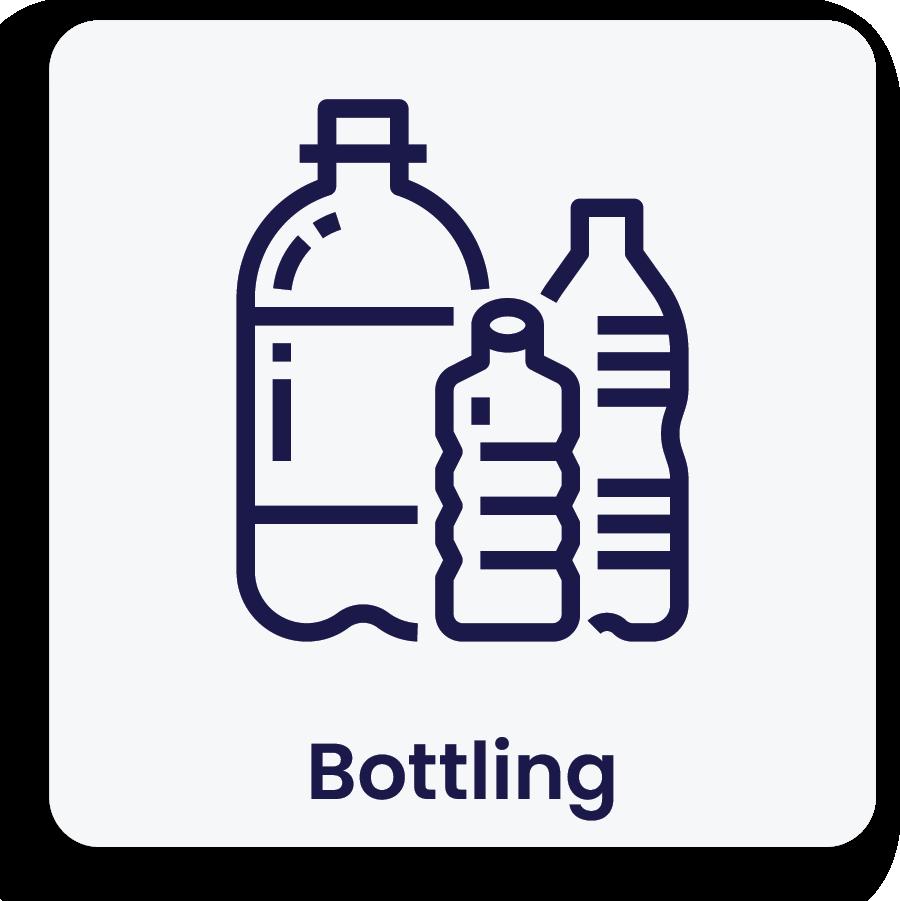 Bottling Icon Nitrogen generation