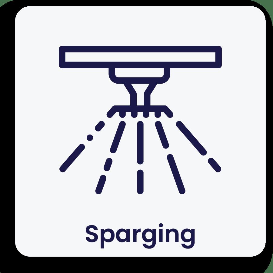 Sparging
